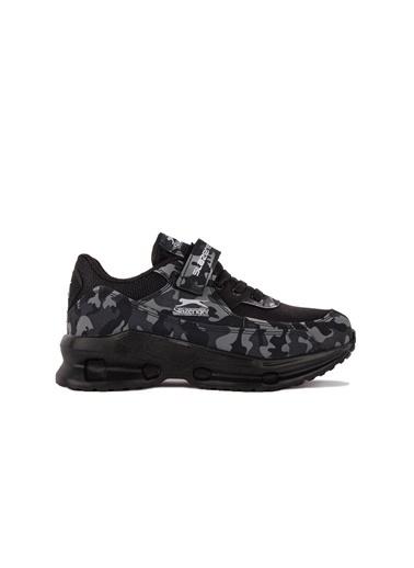 Slazenger Akura Erkek Çocuk Sneaker Ayakkabı Siyah